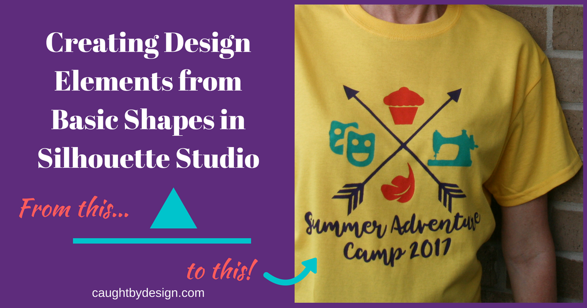 Creating Design Elements from Basic Shapes in Silhouette
