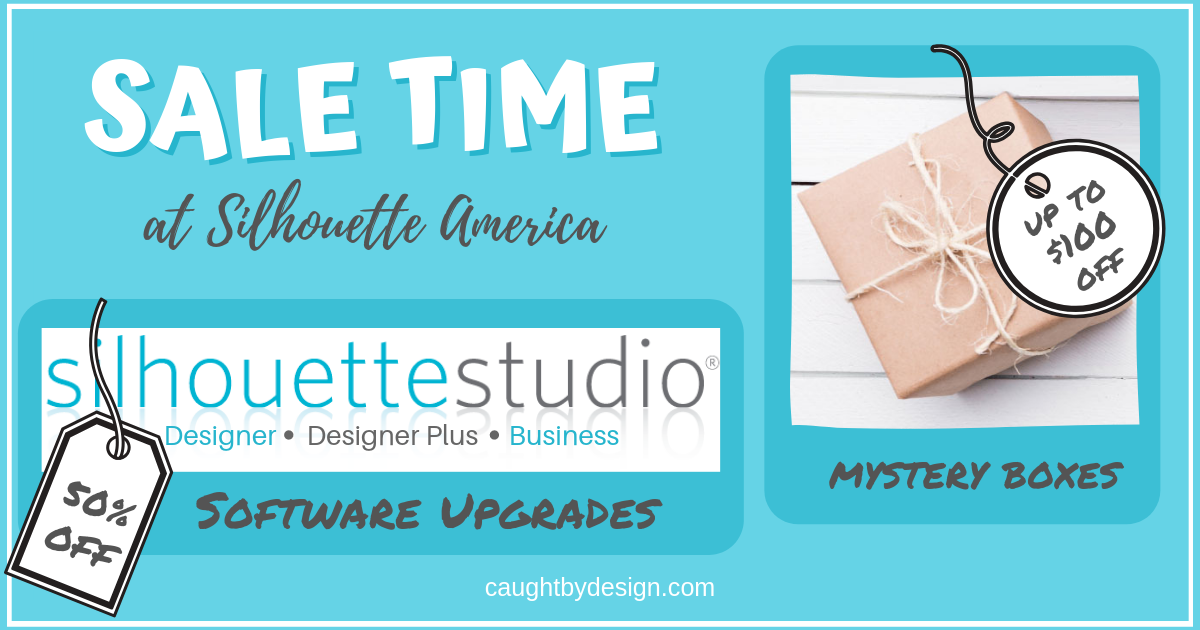 Software Sale And More At Silhouette America Caught By Design